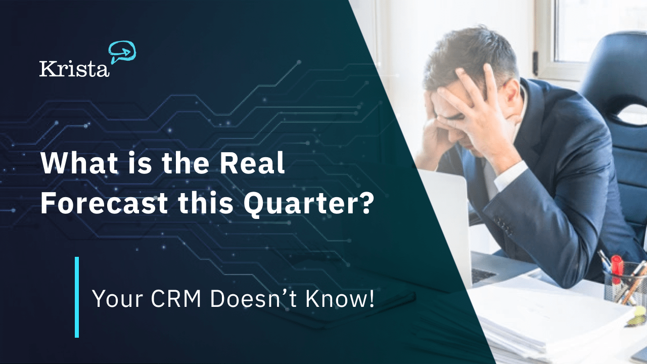man frustrated with salesforce CRM forecasting