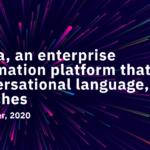 Krista, an enterprise automation platform that uses conversational language, launches September 2020
