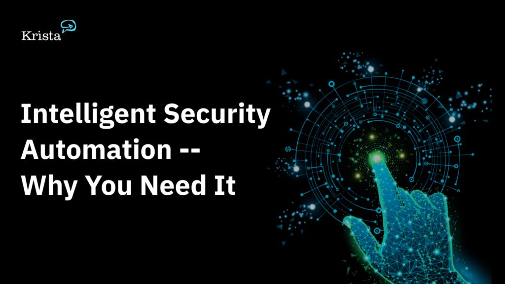 automate security processes